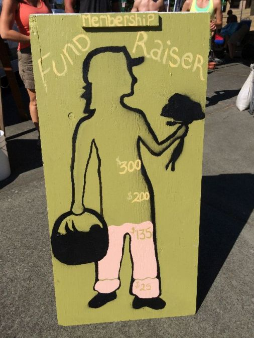 Fundraiser Sign