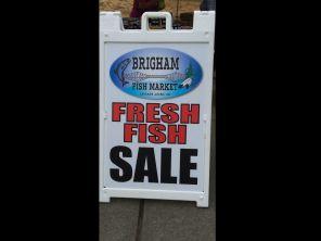 Brighams Sign